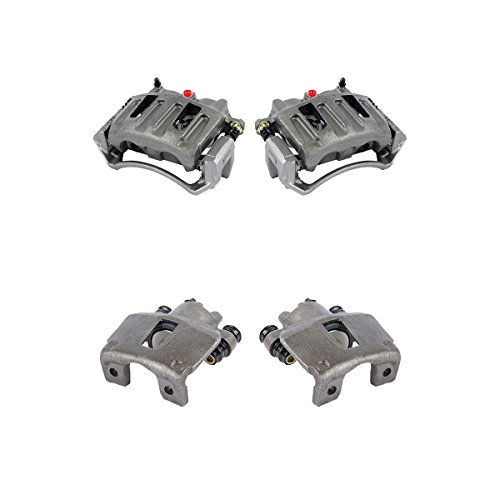 CK01092 FRONT + REAR [ 4 ] Premium Grade OE Caliper Assembly Set - Caliper F150 Brake Ford