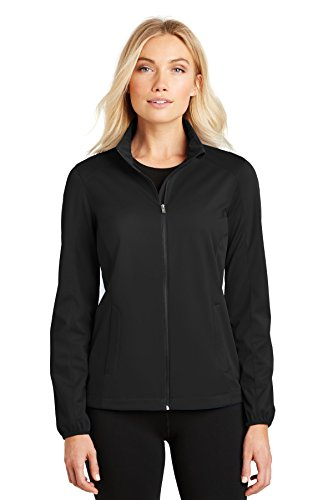 Port Authority Ladies Active Soft Shell Jacket. L717 Deep Black