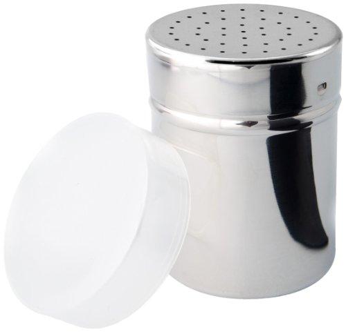 Cuisinox Stainless Steel Salt Shaker With Plastic Cap