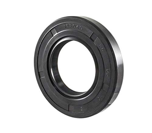 Oil and Grease Seal TC 65X85X10 Rubber Double Lip with Spring 65mmX85mmX10mm.