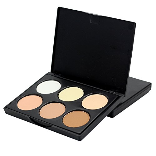Shouhengda Face Powder Contour Make Up Studio Fix Bronzer Shading Mineral Pressed Powder Palette A01 -