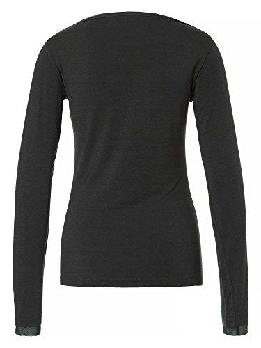 TRU TRUSSARDI Camiseta manga larga Mujer antracita
