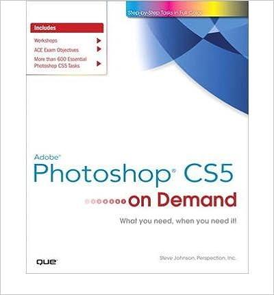 Book [(Adobe Photoshop CS5 on Demand )] [Author: Steve Johnson] [May-2010]