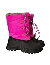 Mountain Warehouse Whistler Kids Snow Boots - Warm Childrens Boots