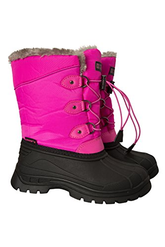 - Mountain Warehouse Whistler Kids Snow Boots - Warm Winter Boots Pink 3 Child US