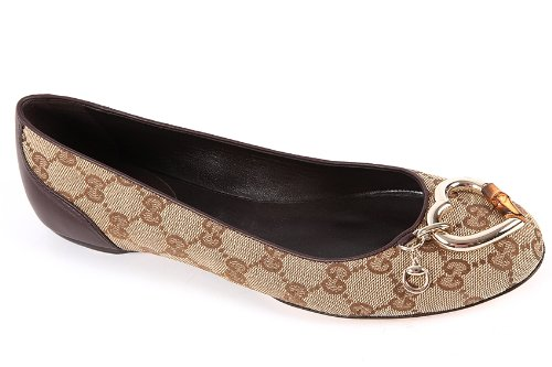 Gucci ballerine donna in cotone originale beige  Amazon.it  Scarpe e borse 38722134a870