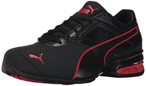 PUMA Men's Tazon 6 FM Sneaker, Black-Toreador,8 M US