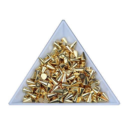 nail studs 3d cone - 9