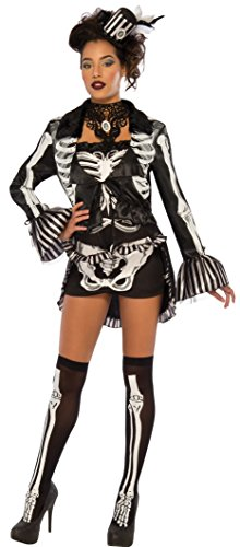 Rubie's Costume Co Elegant Skeleton Costume, X-Small, (Themed Halloween Costumes 2017)