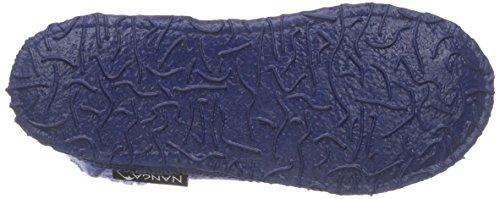 Nanga 0001 - Zapatillas de casa de fieltro unisex azul (Himmelblau 39)
