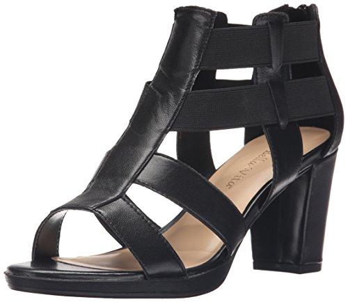 Bella Vita Lincoln de la mujer vestido sandalia Negro