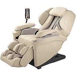 Panasonic MAJ7 Real Pro Ultra Premium 3d Luxury Full Body Heated Massage Recliner Chair (Ivory)