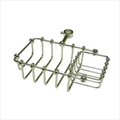 (Elements of Design DS2141 St. Louis Riser Mount Soap Basket, 7