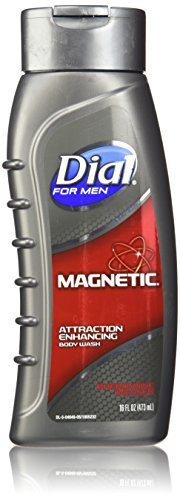 - Dial for Men Magnetic, Attraction Enhancing-Phermone Infused Body Wash 16 fl oz (473 ml) (Pack of 3)