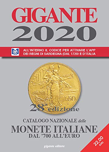 Gigante 2020. Catalogo nazionale delle monete italiane dal 700 alleuro: Amazon.es: Gigante, Fabio: Libros en idiomas extranjeros