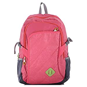 Aoking J47033A Backpack for Women - Nylon, Pink