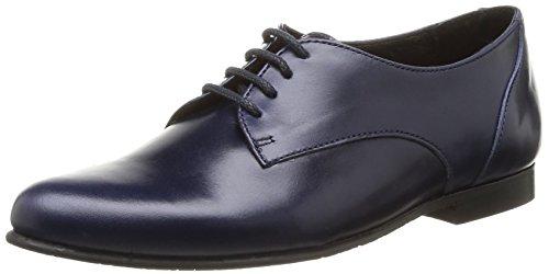 Eh Oui Adriane - Chaussures À Lacets En Cuir Pour Garçon Bleu Bleu (bleu Cuir) 40 64uVIz2M4t