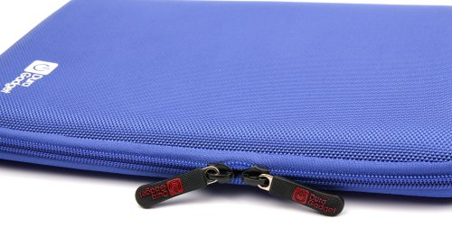 New DURAGADGET Brilliantly Resilient Hard Shell Case Cover Sleeve With Internal Ergonomic Designed Net Accessories Pouch In Vibrant BLUE COLOUR For Asus Transformer Book T100TA, Asus MEMO PAD 10, Asus Transformer Pad TF701T, Transformer Infinity & Transfo by DURAGADGET (Image #3)