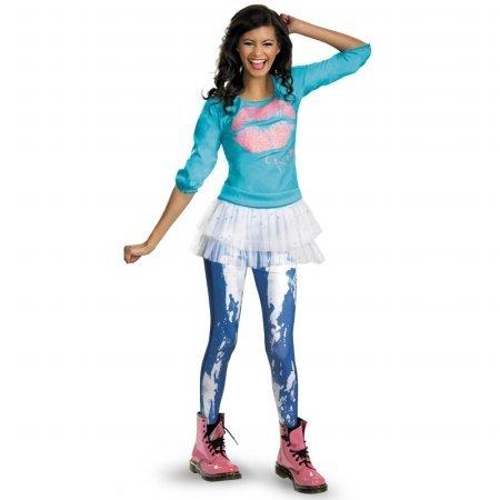 Disguise Disney Shake It Up Rocky Season 2 Classic Tween Costume, (Shake It Up Halloween Costumes)