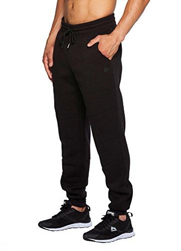 RBX Active Men's Jogger with Porkchop Pockets Black M