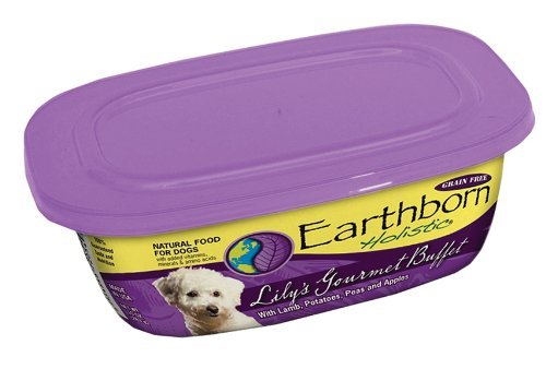 Nature's Animals Earthborn Holistic Lilys Gourmet Buffet for Dog, Color Lamb, Size: 9 OUNCE, Count: 8
