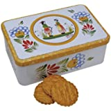 Ker Cadelac Butter Galettes in Quimper, 11.5-Ounce Tin