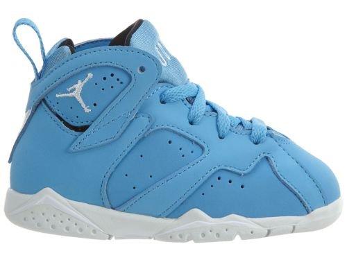 Jordan 7 BT Intants/Toddlers Shoes University Blue/White 304772-400