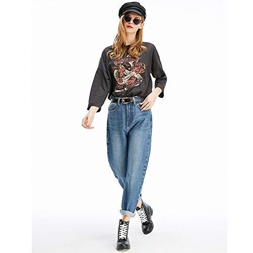 Jeans l Jeans MVGUIHZPO Neue Jeans und Bequeme Jeans Haren Jeans Rbenhosen ssige XL Femme Yfx8aIrwq8