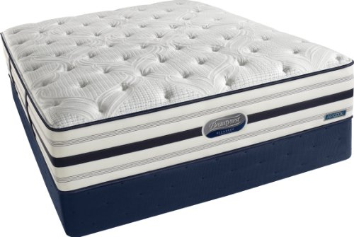 Beautyrest Recharge World Class Manorville Plush Mattress Set, King