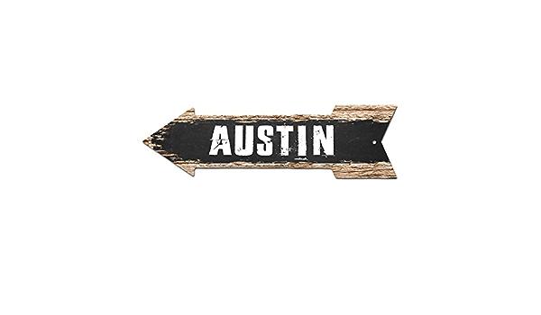 AP-0263 PROVIDENCE Arrow Street Tin Chic Sign Name Sign Home man cave Decor