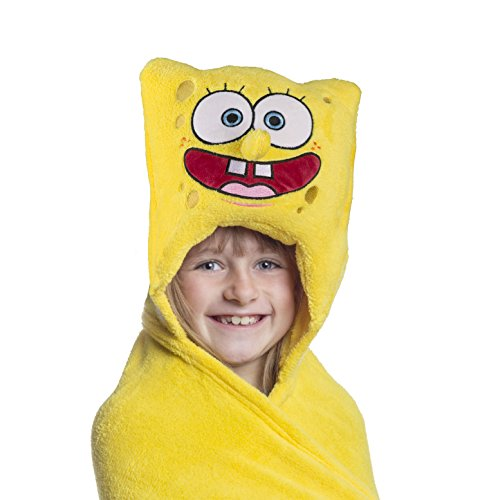 Spongebob Squarepants Throw And Pillow Set : Comfy Critters Stuffed Animal Blanket ? SpongeBob SquarePants ? Kids huggable pillow and blanket ...