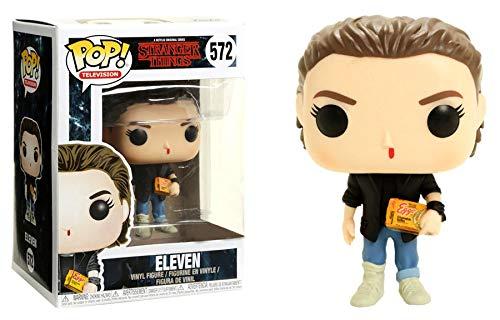 Funko Pop! Stranger Things - Eleven wafles y cabello, El, también llamada Ce.