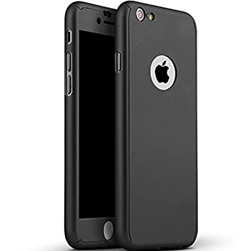 bf0134f8058 360 Degree Full Body Protection Case for iPhone 6 Plus / 6S Plus - Black