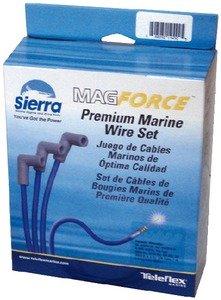 Sierra International 18-8802-1 Marine Spark Plug Wire Set, Conventional Ignition, 8 Cylinder, Mercury, Mercruiser, OMC, Volvo Penta Engines from Sierra International