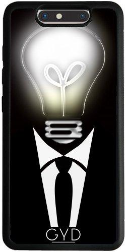 Funda Silicona para ZTE Blade V8 - El Hombre Y La Luz by Digital-Art