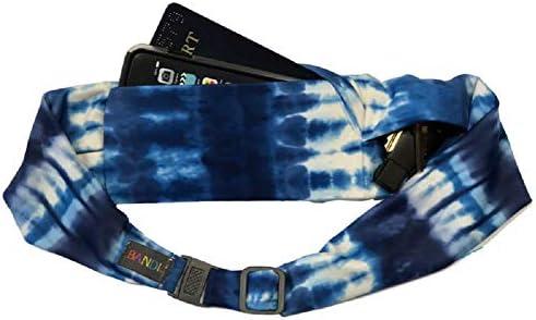 BANDI Large Pocket Belt Holds Phone for Running, Travel, Medical, Adjustable Fit, Comfortable