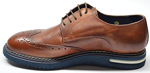drudd - Zapatos de cordones para hombre cuero