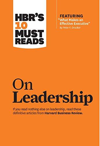 HBR 10 Must Reads on Leadership
