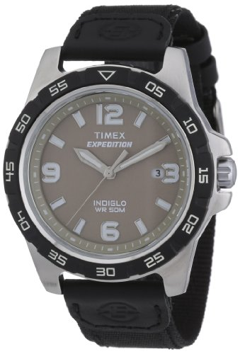 Timex Men's T49885 Expedition Rugged Metal Field Black Nylon Strap Watch