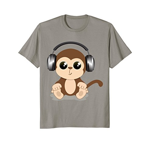 (Cool Brown Monkey T-Shirt Design)