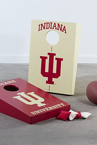 South Bend Woodworks Indiana University Toddler Bean Bag Toss (2 Board) by South Bend Woodworks (Image #1)