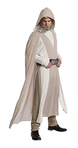 Rubie's Men's Adult Star Wars: Episode VIII Deluxe Luke Skywalker Costume, As As Shown, Standard]()