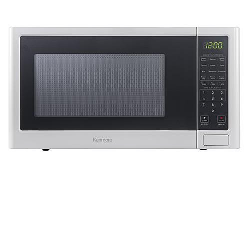 Kenmore 1.2 cu. ft. Microwave Oven – White For Sale