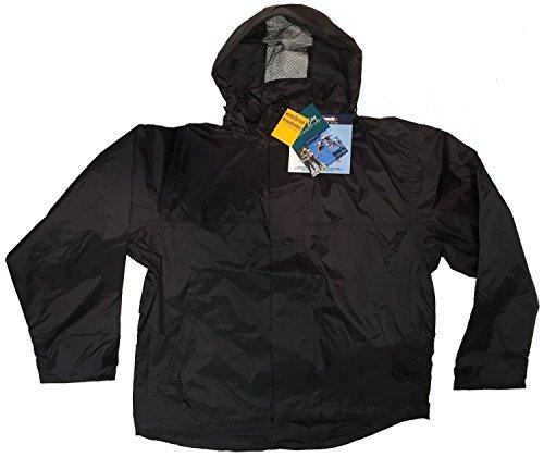 Boca Bay (Bimini Bay Outfitters Men's Boca Grande Waterproof Jacket Black L)