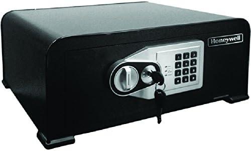 Honeywell Safes Door Locks – 5705 Curved Top Security Safe with Digital Lock, Black