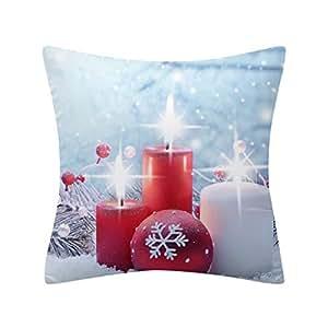 Amazon.com: Funda de almohada de Navidad para cama, sofá ...