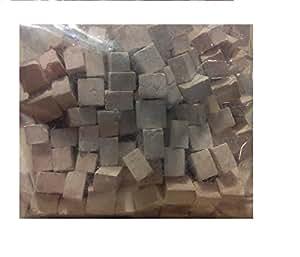 Pack 150 gramos piedra cuadrada blanca miniatura para ...