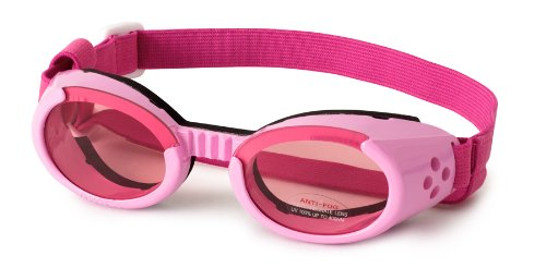 DOGGLES ILS SUNGLASSES UV PROTECTIVE EYEWEAR ALL SIZES & STYLES (Medium, Pink) by Doggles