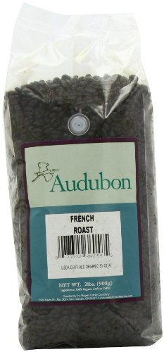 Audubon Whole Bean Coffee, French Roast, 32 Ounce