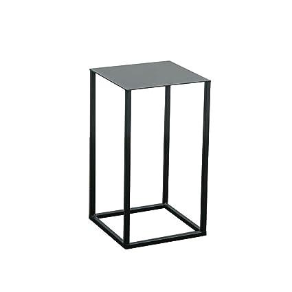 Amazon Com Xbbz Minimalist Wrought Iron Coffee Table Nordic